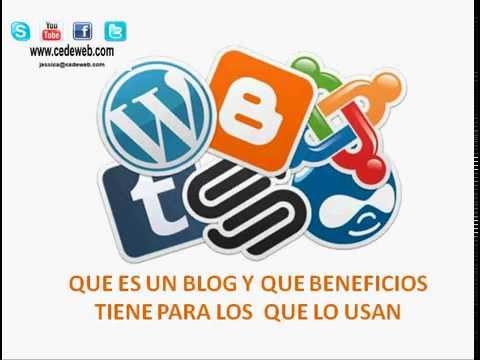 Que es un blog y que beneficios tiene para los que lo usan for Que es un vivero frutal