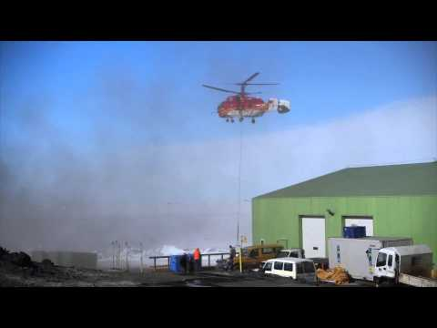 Kamov KA 32 at Scott Base Antarctica