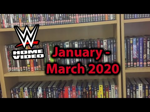 WWE DVD Upcoming Releases In January - March 2020
