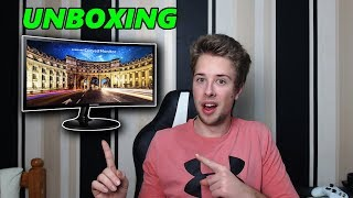 Samsung C24F390 Curved Gaming Monitor (Unboxing + Review)