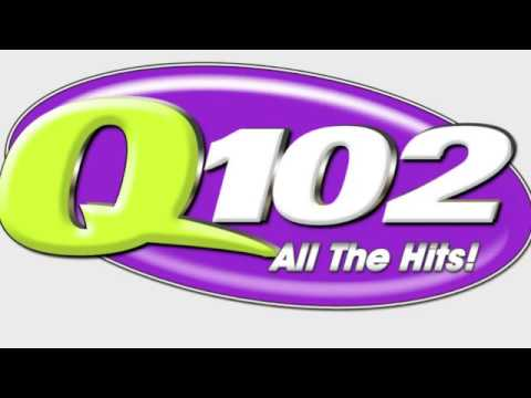 WIOQ Q102 Philadelphia - Glenn Kalina-Frankie C - 1989