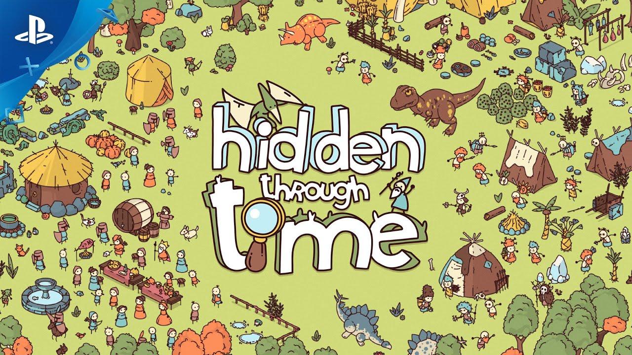 Hidden Through Time - Gameplay Trailer   PS4