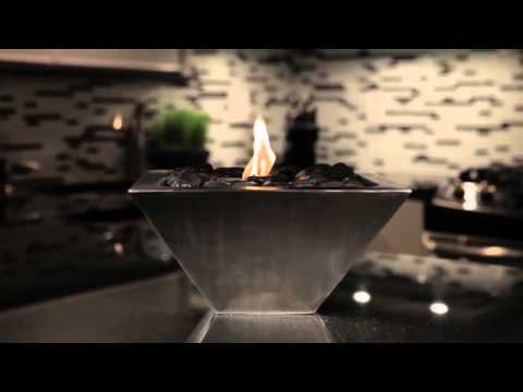 Anywhere Fireplace Empire - Model Ventless Gel Fireplace