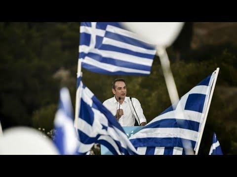 Kyriakos Mitsotakis, l'héritier qui veut relancer l'économie grecque