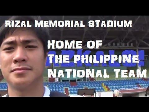 Training in the National Stadium! | Manila, Philippines