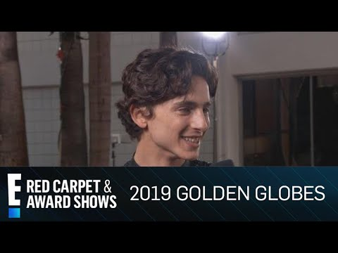 Timothée Chalamet Fanboys Over Ryan Seacrest at Golden Globes | E! Red Carpet & Award Shows
