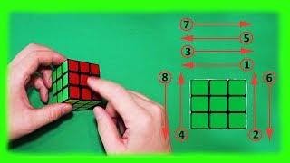 Как собрать кубик Рубик. Легко и просто.