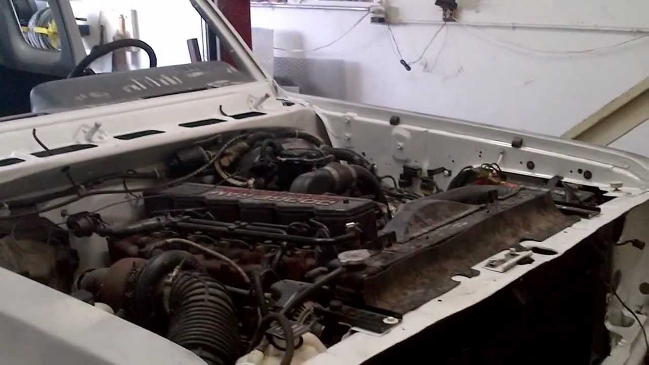 1993 Dodge Ram W250 Diesel Restoration - YouTube