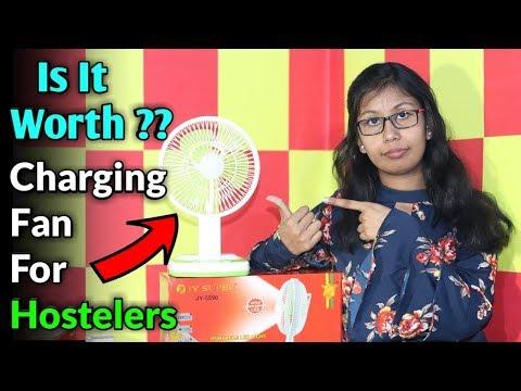 portable-charging-fan-unboxing- -is-it-worth-?- -unboxing-jy-super-5590-rechargable-fan-amazon