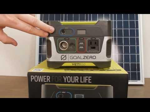 Goal Zero Yeti 150 Backup Generator Review