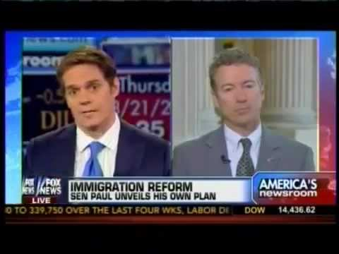 Rand Paul Defends Immigration Reform On Fox: