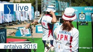 Live Session: Recurve Finals |Antalya 2015