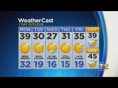 New York Weather: 3/4 Monday Afternoon Forecast – New York Alerts