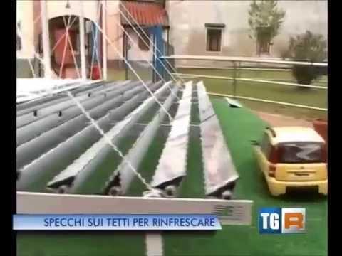 9maggio14 TGR Lombardia Solar cooling Gorla Maggiore VA