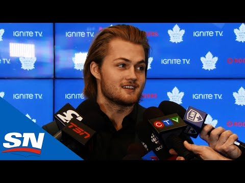 William Nylander Talks About Rejoining Maple Leafs | FULL Press Conference