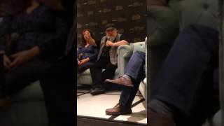Asking George R.R. Martin about SanSan ;)
