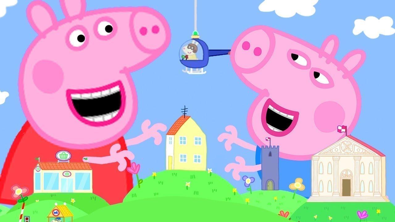 Peppa Pig Português Brasil | Peppa levado | HD | Desenhos Animados