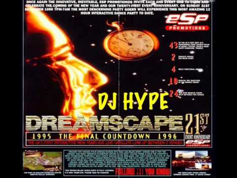 Dj Hype @ Dreamscape 21 New Years Eve 31st...