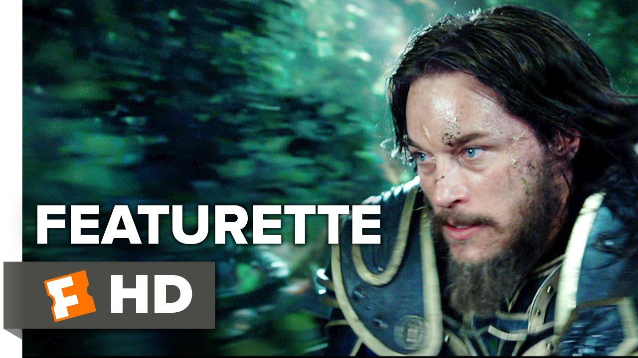 Warcraft Featurette Lothar 2016 Travis Fimmel Paula Patton