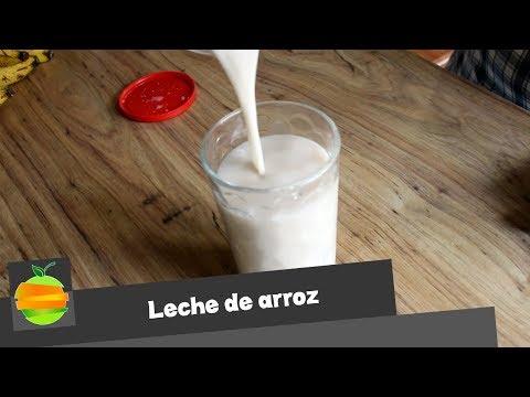¿Cómo preparar leche de arroz? Receta sencilla, saludable y deliciosa.
