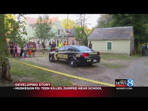 Muskegon police: Teen killed, dumped near school