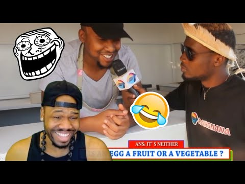 Is an EGG a FRUIT or VEGETABLE? Street Quiz South Africa | Reaction