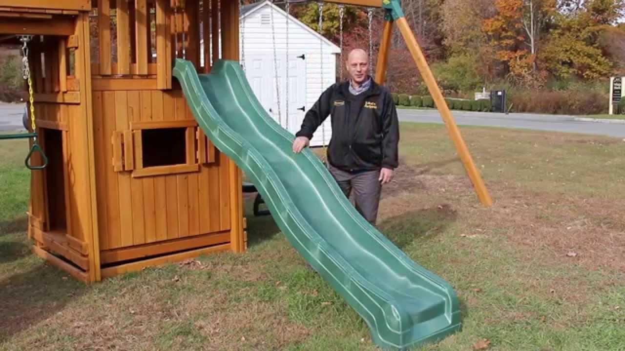 Swing Set Slides 10 Foot Wave Slide