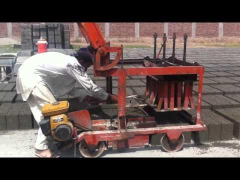 Concrete block making machine chiniot