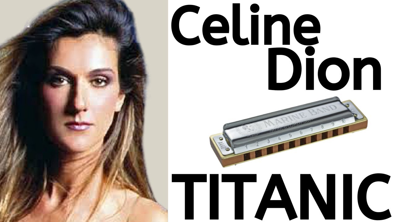 Beginner Harmonica Songbook Lesson #12:  Titanic theme ('My Heart Will Go On' by Celine Dion)