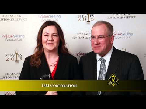 IBM Corporation wins a Stevie® Award in the 2015 Stevie Awards for Sales & Customer Service