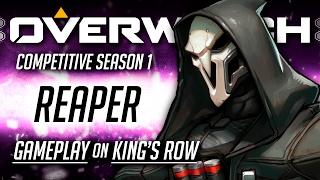 Overwatch w/ TheKingNappy! Reaper Gameplay on King