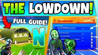 Fortnite Ego Outposts & The Lowdown Challenges Guide!   Hidden N (fortnite Missions)