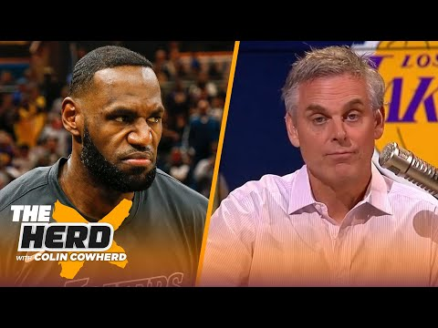 Colin reacts to Kenny Smith naming LeBron James as the 10th-best player of all time | NBA | THE HERD