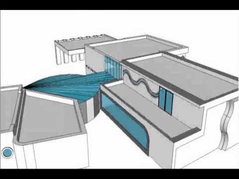 casa moderna google sketchup youtube
