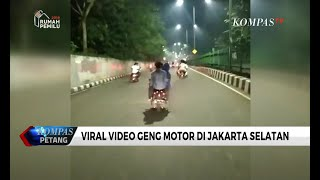 "Viral Video Geng Motor ""Sweeping"", Polisi: Video Lama  from"