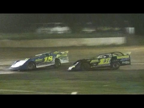 RUSH Crate Late Model Heat One | Eriez Speedway | September Sweep | 9-23-16
