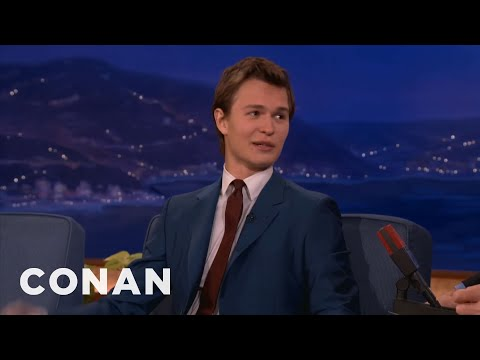 Ansel Elgort's Miniature Pick-Up Lines