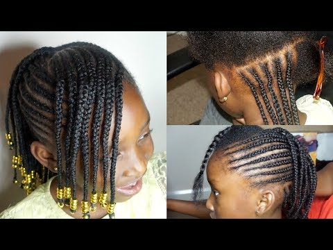Kids Protective Styles For Back To School