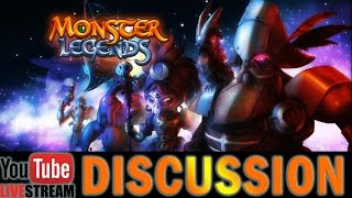 Monster Legends | Space Raiders Maze Island | Live Discussion!