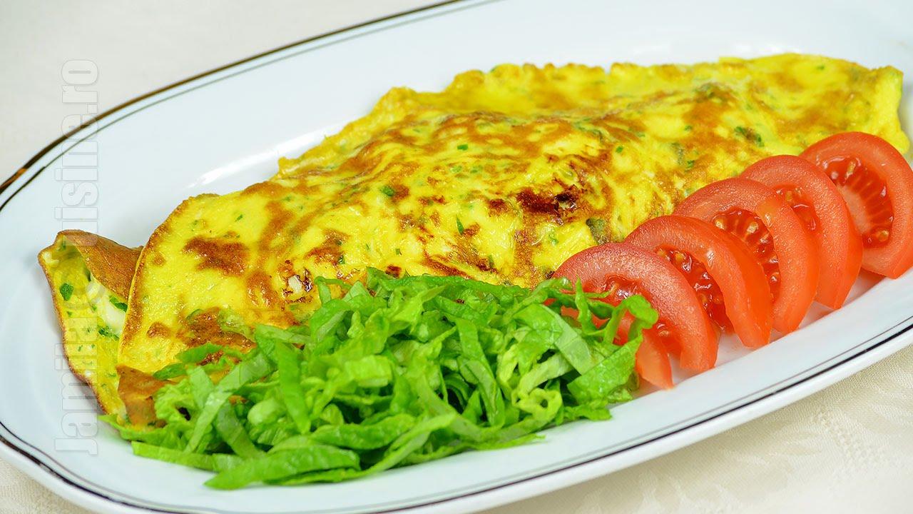 lieknėjantis omletas)