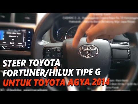 Toyota Agya 2014 UPGRADE Stir Toyota Fortuner/Hilux tipe G ORIGINAL TOYOTA