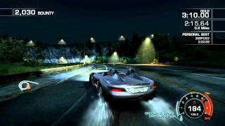 "NFS Hot Pursuit 2010 ""Slide Show"" 2:31.99 Dodge Viper ACR vs SLR Stirling Moss comparison"