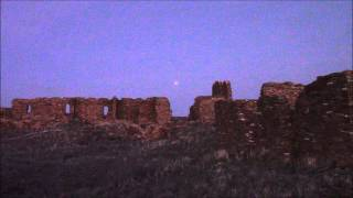 The Lunar Eclpse of April 4th, 2015 & Pueblo Pintado
