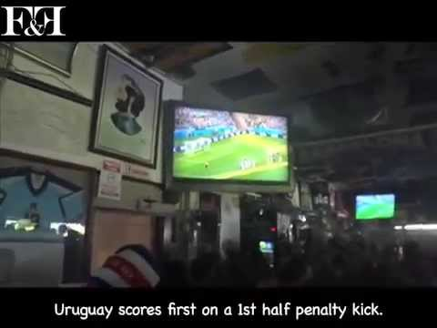 Costa Rica v. Uruguay FIFA World Cup Celebration - Charlie's Bar, San Antonio de Belen