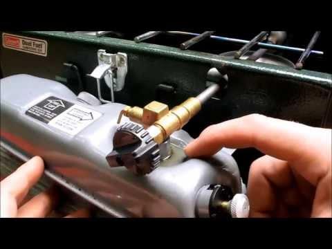 COLEMAN DUAL FUEL PETROL TWO BURNER STOVE GENERATOR SPARE PART 424-5621 424-700