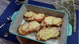 Рецепт Вкусных Горячих Бутербродов