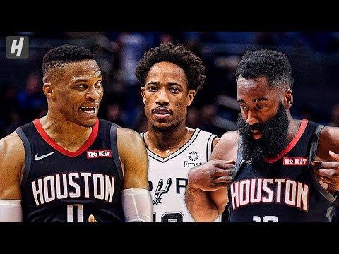 Houston Rockets vs San Antonio Spurs - Full Game Highlights   December 3, 2019   2019-20 NBA Season