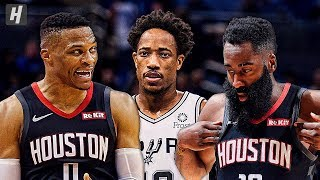 Houston Rockets vs San Antonio Spurs - Full Game Highlights | December 3, 2019 | 2019-20 NBA Season