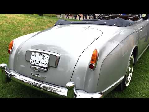 Bentley restored after owned by Prince of Iraq and stolen by Saddam Hussein  - shown at Pebble Beach