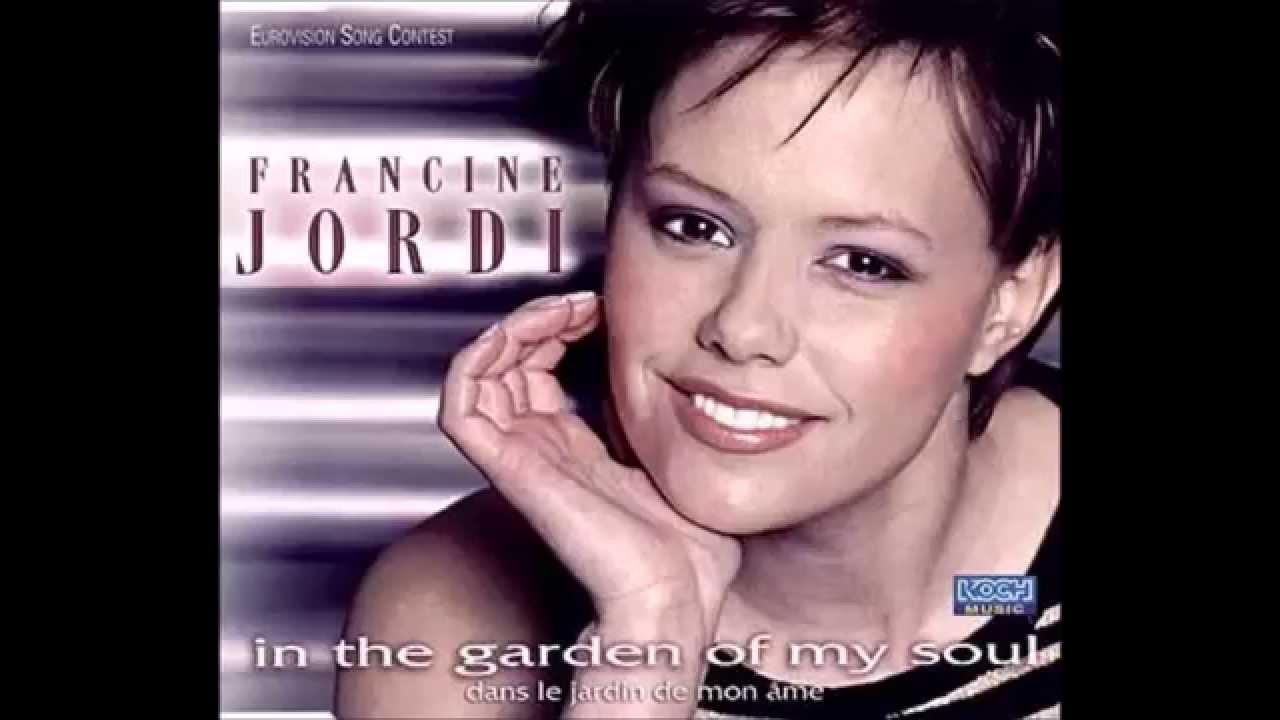 2002 Francine Jordi Dans Le Jardin De Mon Ame